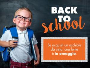 Back to school: promo occhiali bimbi e ragazzi