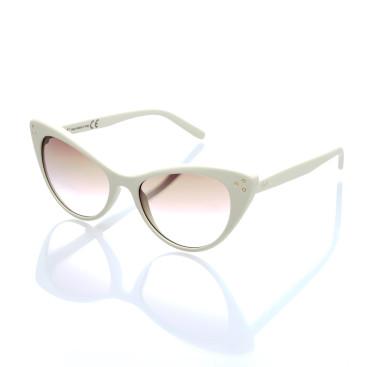 occhiale sole donna lenti specchiate colorate montatura a occhi di gatto