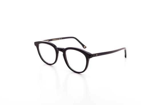 occhiale da vista unisex comodo e con montatura in acetato nero