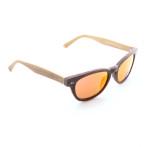 occhiali da sole e-wooden
