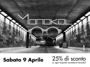 9 Aprile - Presentiamo Monokol Eyewear