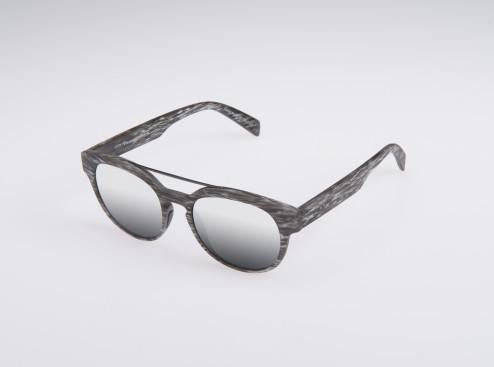 occhiale da sole unisex grigio italia independent