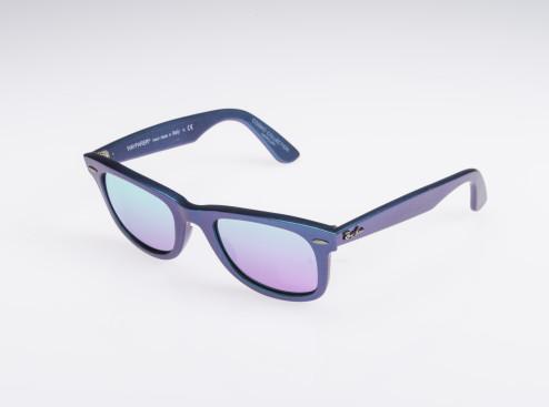 occhiali da sole rayban con lenti specchiate unisex