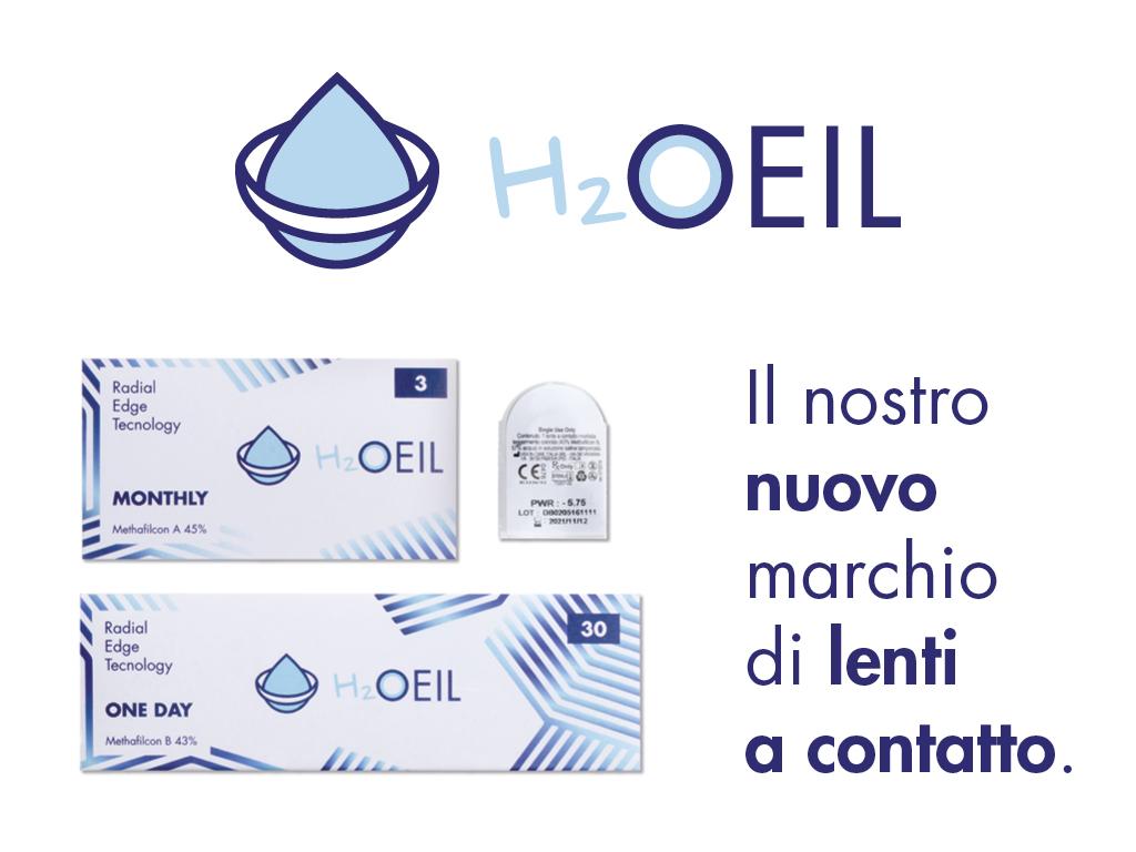 H2OEIL - Il nostro marchio per lenti a contatto